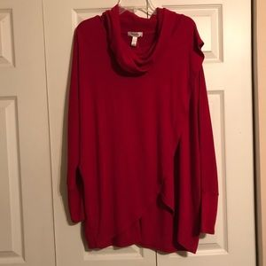 DRESSBARN NWT Women's Cape Style Sweater Shirt